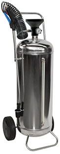 50 l sprayer stainless steel