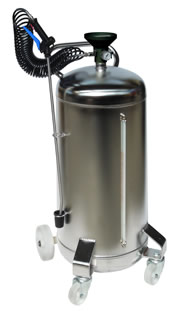 100 l sprayer stainless steel